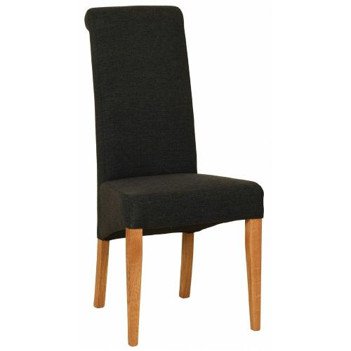 Elworth Rollback Chair Charcoal